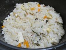 山菜きのこ 調理②
