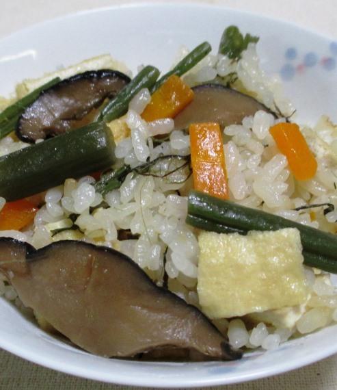 山菜きのこ 大