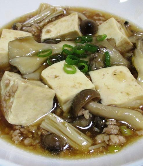 きのこ豆腐 B