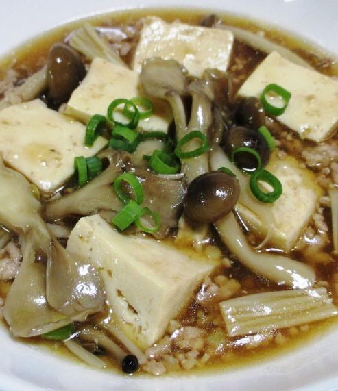 きのこ豆腐 大