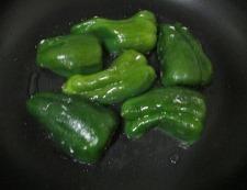 ピーマンの肉詰め 調理④