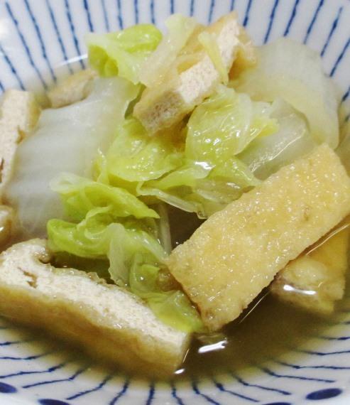 白菜とお揚げ B
