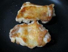 鶏もも肉の青じそ照り焼き 調理④