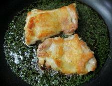 鶏もも肉の青じそ照り焼き 調理⑤