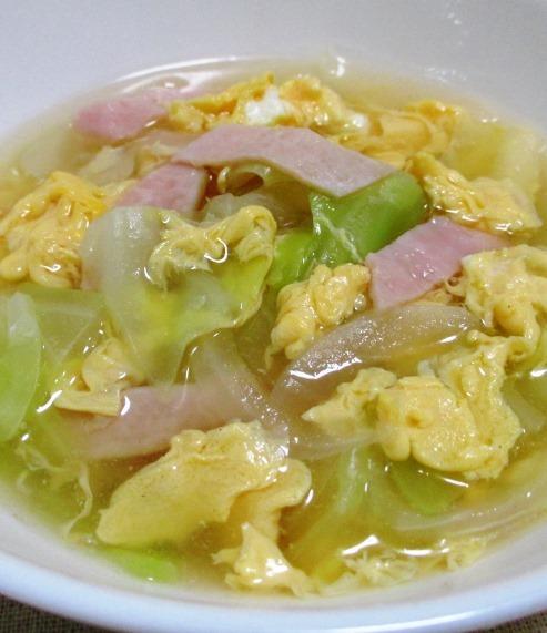 ハムキャベツスープ 大