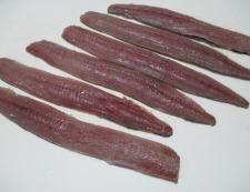 サンマの七味照り焼き 調理①