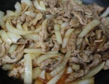 豚こまアスパラ蜂蜜しょうが焼き 調理⑤