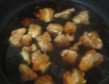 鶏もも肉と青梗菜の煮物 調理④