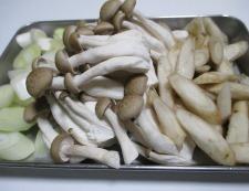 里芋の煮物 調理③