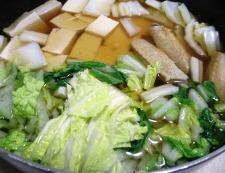 手羽中豆腐 調理⑤