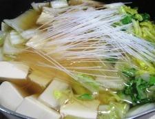 手羽中豆腐 調理⑥