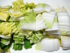 手羽中豆腐 調理①