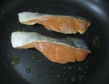 オイマヨ七味照り焼き 調理③