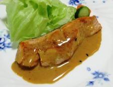 オイマヨ七味照り焼き 調理⑥