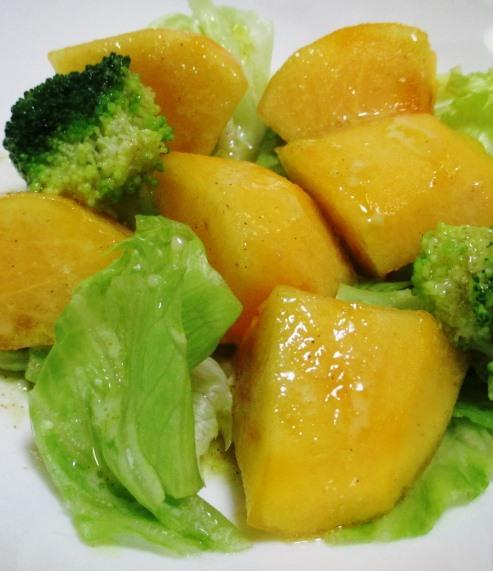柿とブロッコリー B