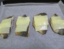 アジのチーズ焼き 調理④