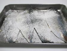 アジのチーズ焼き 調理①