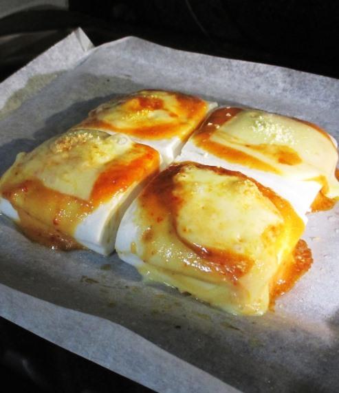 はんぺんのピリ辛オイマヨチーズ焼き 拡大