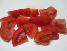 ゆで卵トマト 調理③