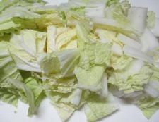 白菜さつま揚げ 調理① (2)