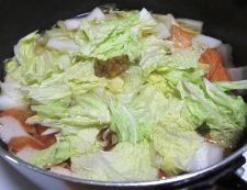 白菜さつま揚げ 調理④