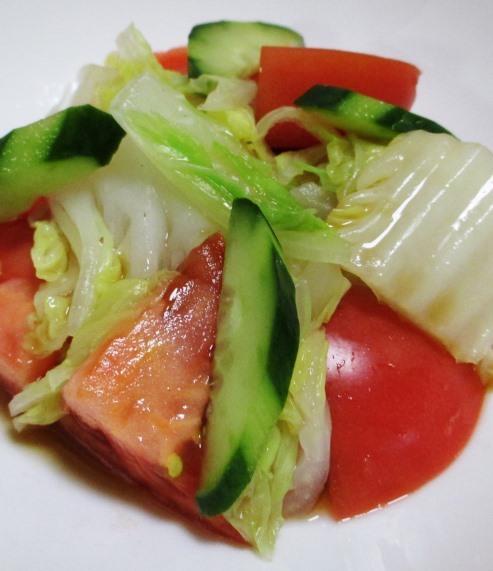 白菜トマト 大