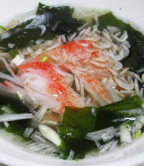 シーフードねぎ塩スープ 大