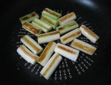 鶏だんごと焼きネギのスープ煮 調理③