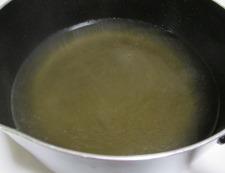 鶏だんごと焼きネギのスープ煮 調理①