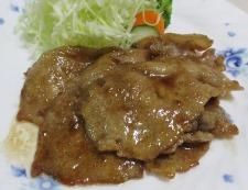 豚ロース 柚子胡椒照り焼き 調理⑥