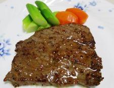 ビーフステーキ 調理④