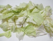 ツナとキャベツの胡麻ポンサラダ 調理①
