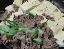 牛肉豆腐 調理⑤