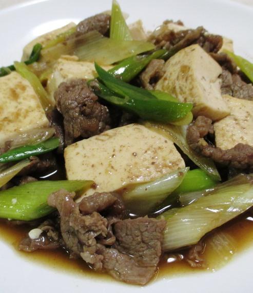 牛肉豆腐 大