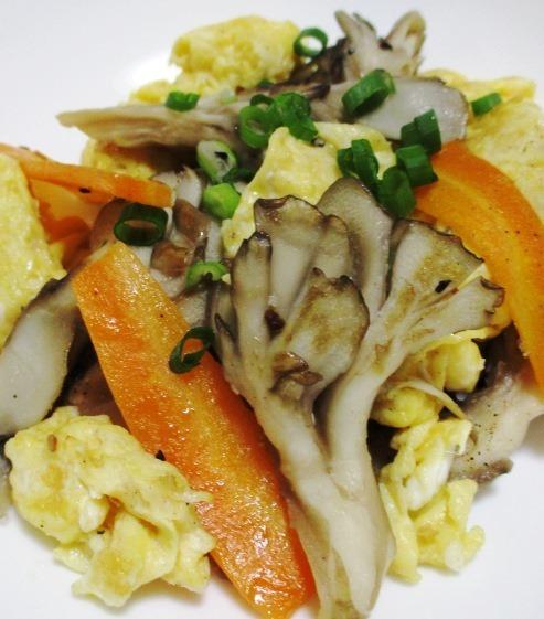 舞茸と炒り卵 B