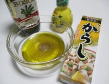 キャベツリンゴサラダ 調理①