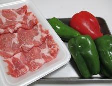 じゃがいもと豚肉の旨塩炒め 材料②