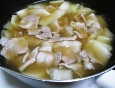豚バラ白菜 調理④