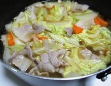 豚バラ白菜 調理⑥