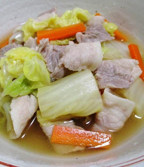 豚バラ白菜 B