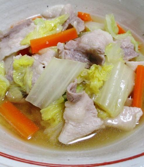 豚バラ白菜 拡大