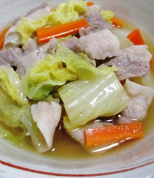 豚バラ白菜 大