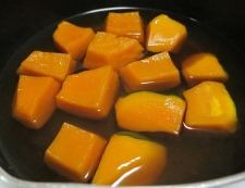 かぼちゃの煮物 調理④