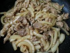 豚こまスタミナ炒め 調理⑥