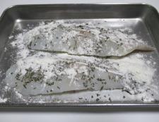 タラのバジルチーズ焼き 調理②