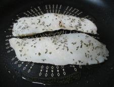タラのバジルチーズ焼き 調理③