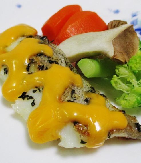 タラのバジルチーズ焼き B