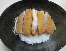七味おろしカツ丼 調理⑤