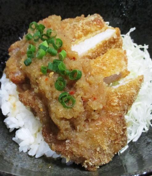 七味おろしカツ丼 大