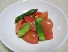 アスパラトマト 調理③